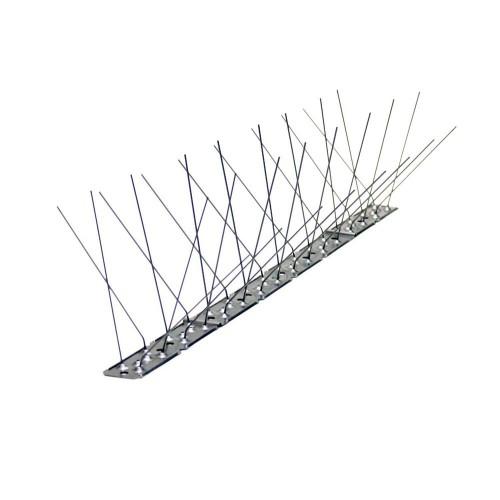 Dissuasori in acciaio inox ultraflessibile da 60 spilli 5 metri