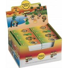 Filtri di carta mad4 in blocchetti 1 box 80 libretti