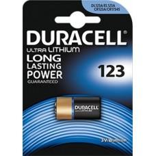 Batteria duracell ultra lithio 123 1 blister 1 batteria