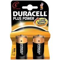 Batteria duracell plus power mezza torcia c 1 blister 2 batterie