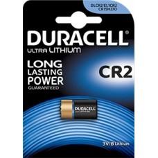 Batteria duracell ultra lithio cr2 1 blister 1 batteria