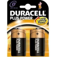 Batteria duracell plus power torcia d 1 blister 2 batterie