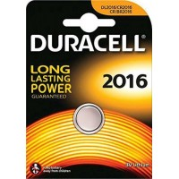 Batteria duracell pila dl2016 3v da 1 box 10 blister 10 batterie