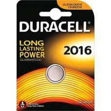 Batteria duracell pila dl2016 3v da 1 box 10 blister 10 batterie