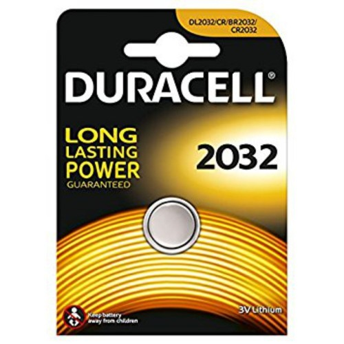 Batteria duracell lithium 2032 1 box 10 blister 10 batterie