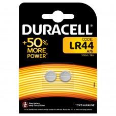 Batteria duracell alakalina a bottone lr 44 1 blister 2 batterie