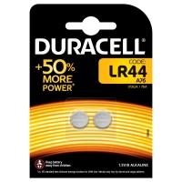 Batteria duracell alakalina a bottone lr 44 1 box 10 blister 20 batterie
