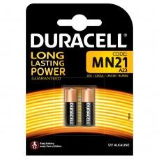 Batteria duracell alakalina mn21 1 box da 10 blister 20 batterie