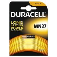 Batteria duracell alkalina mn27 1 box da 10 blister 10 batterie