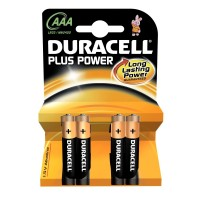 Batteria duracell plus power ministilo 1 box da 10 blister 40 batterie
