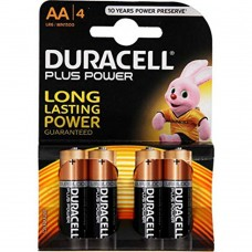 Batteria duracell plus power stilo 1 blister 4 batterie