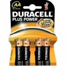 Batteria duracell plus power stilo 1 box da 20 blister 80 batterie