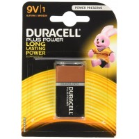 Batteria duracell plus power transistor 9v 1 blister 1 batteria