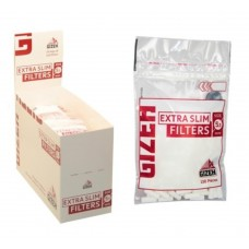 Filtri gizeh slim 6 mm 1 box 20 bustine da 120 filtri