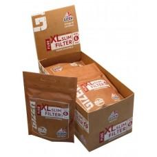 Filtri gizeh pure bio 6 mm in bag xl 1,9 cm 1 box 10 bustine da 120 filtri