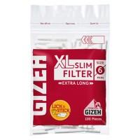 Filtri gizeh slim 6 mm xl filtro da 2 cm 1 busitna da 100 filtri