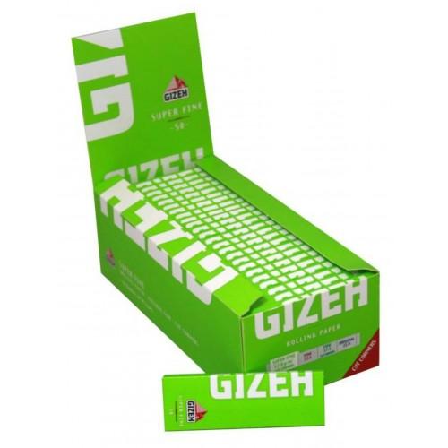 Cartine gizeh super fine corte 1 box 50 libretti 2500 cartine