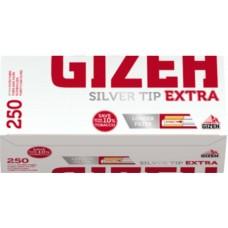 Tubetti vuoti gizeh silver con filtro extra 1 box da 250 tubetti