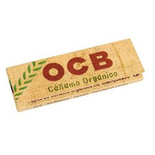 Cartina ocb bio corta horganic hemp canapa 1 libretto 50 cartine