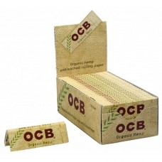 Cartine ocb bio corte horganic hemp canapa 1 box 50 libretti 2500 cartine