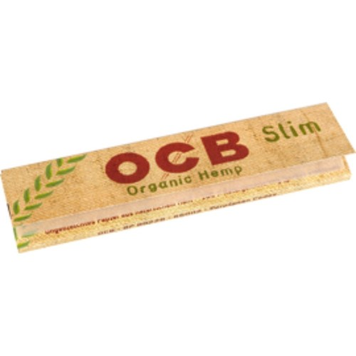 Cartina ocb bio horganic hemp slim king size 1 libretto 32 cartine