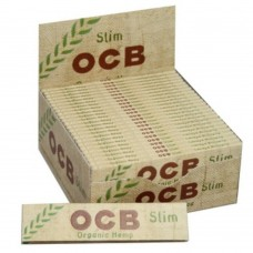 Cartine ocb bio horganic hemp slim king size 1 box 50 libretti 1600 cartine