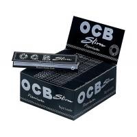 Cartine ocb premium nere slim 1 box 50 libretti 1600 cartine