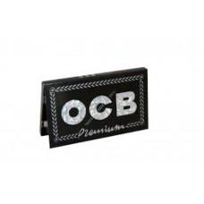 Cartina ocb premium nera doppia corte 1 libretto 100 cartine