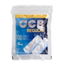 Filtri ocb regular 8 mm in bag 1 bustina da 100 filtri