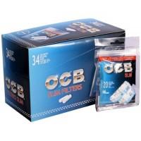 Filtri ocb slim 6 mm in bag 1 box 34 bustine da 120 filtri