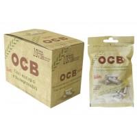 Filtri ocb slim bio 6 mm in bag 1 box 10 bustine da 120 filtri