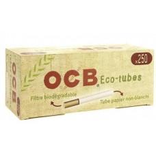 Tubetti vuoti ocb bio eco con filtro 1 box da 250 tubetti