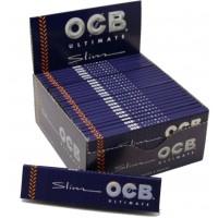 Cartine ocb ultimate slim king size 1 box 50 libretti 1600 cartine