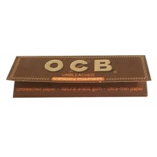 Cartina ocb virgin brown corta 1 libretto 50 cartine