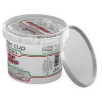 Filtri pop filters slim 6 mm maxi cup 1 barattolo da 500 filtri