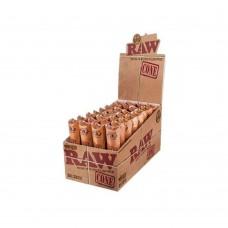 Cone raw classic king size prerollate con filtro 1 box  da 32 pacchetti