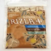 Filtri rizla natura slim 6 mm biodegradabili in bustina 1 bustina da 150 filtri