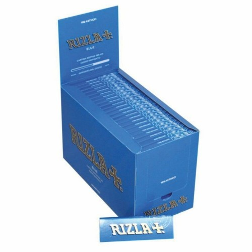 Cartine rizla blu corte 1 box 100 libretti 5000 cartine