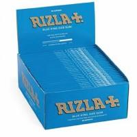 Cartine rizla blu slim king size 1 box 50 libretti 1600 cartine