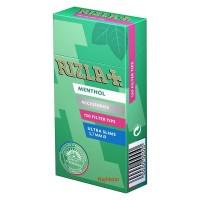 Filtri rizla ultra slim 5,7 mm al mentolo in scatolo 1 scatolino da 120 filtri