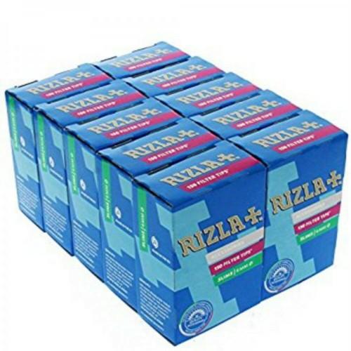 Filtri rizla regular 8 mm in scatolo 1 box 10 scatole da 100 filtri