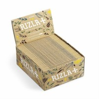 Cartine rizla natura slim canapa 1 box 50 libretti 1600 cartine