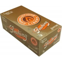 Cartine smoking orange corte 1 box 50 libretti 3000 cartine