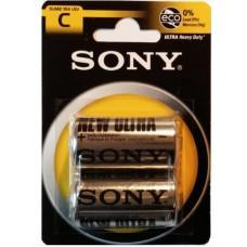 Batterie sony torcia c 1/2 r14 1 blister 2 batterie